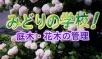 カモンケーブルTV5月「みどりの学校」広島県内のケーブルTVで放送中